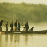 Canoeing in The Rapti River