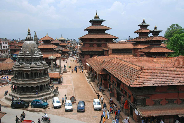 Patan Durbar Square - nepal family tour package