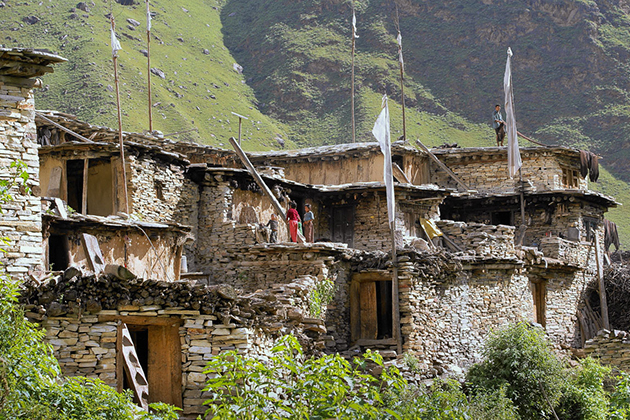 Magar Village Nepal