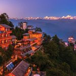 Nagarkot is a good place to see sunrise and sunset