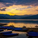 Phewa Lake Sunset Pokhara