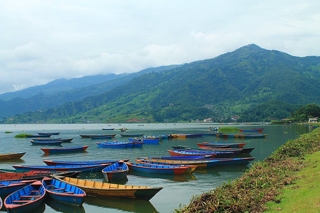 Pokhara Boat Ferry - nepal adventure tour packages