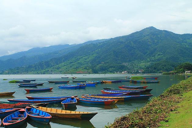 Pokhara Boat Ferry