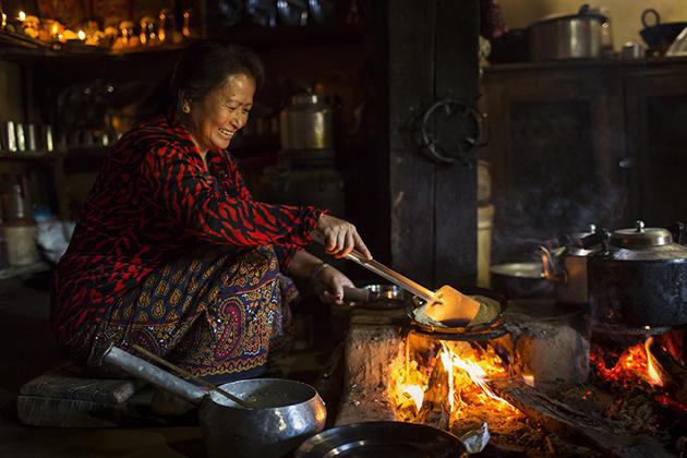 Visit local family in Hemjakot