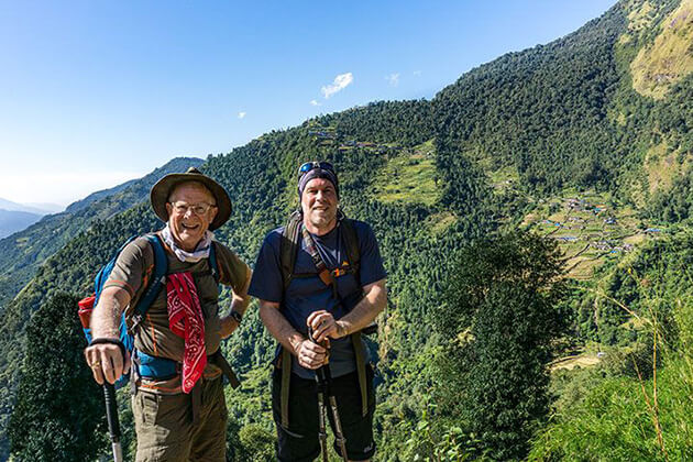 best time for visit nepal - trekking in summer