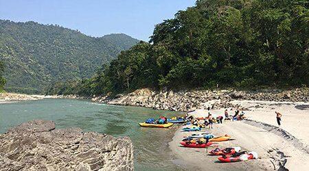 Rafting Nepal adventure