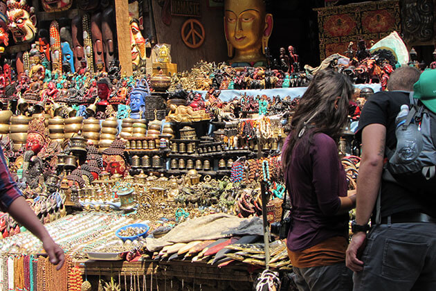 shopping places to buy nepal souvenirs