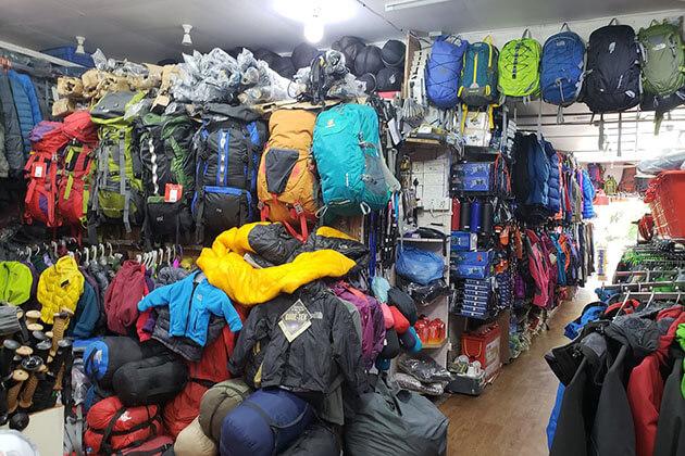trekking gear is the best nepal souvenirs