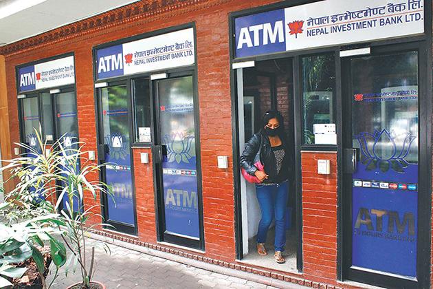 ATM Using In Nepal