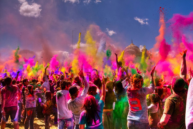Holi Festival - The Festival Of Color in Nepal