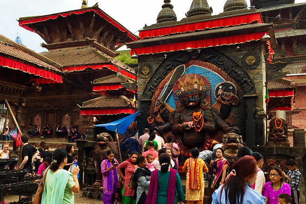 Indra Jatra - Worship For Good Harvest in Nepal