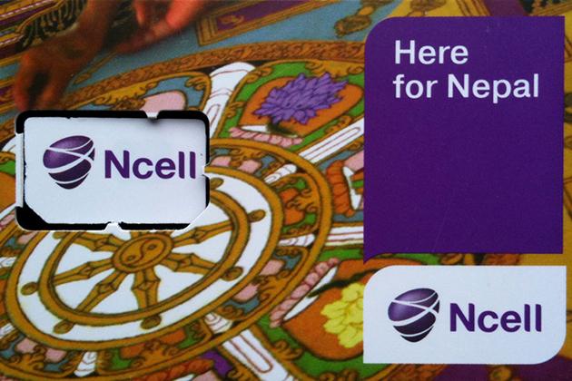 Ncell SIM card - Nepal SIM Card Mobile Network Companies