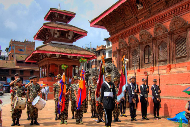 The Dashain Festival in Nepal