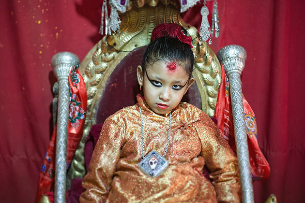 The Living Goddess - Kumari Life In Nepal