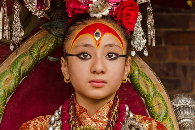 The Living Goddess Legend of Nepal