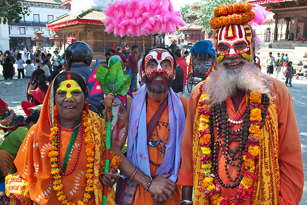 The Nepali Are An Unity Of Many Cultures