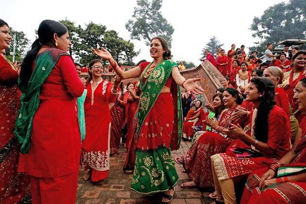 The Teej The Festival For Women in Nepal