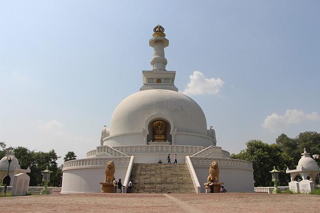 World Peace Pagoda - Bishwa Shanti Stupa