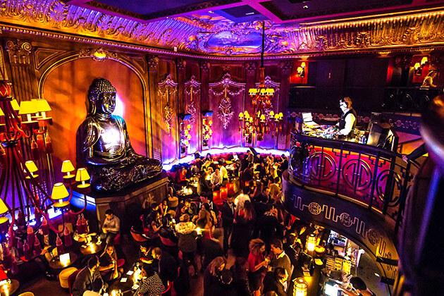 Buddha Bar - night cllub in nepal