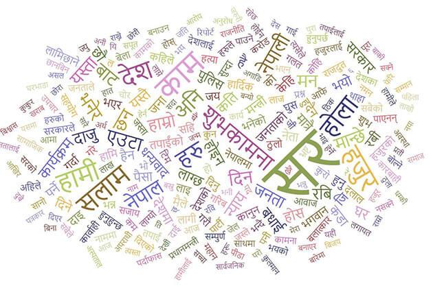 National Language Nepal symbols – Nepali Language