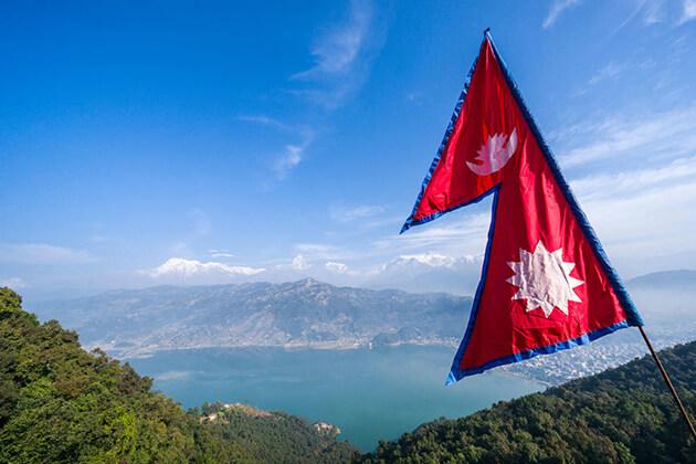 nepal national symbol flag