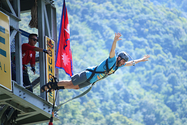 Bungee Jump - nepal tour 2019 2020