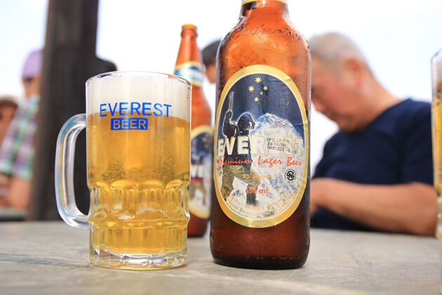 Everest is the best nepal beers