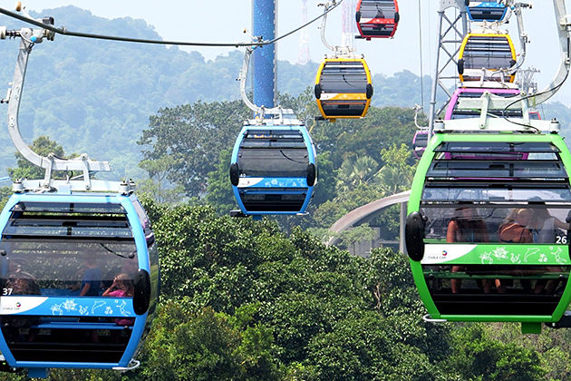 cable car - transport in nepal