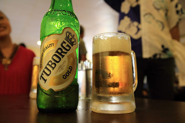 tuborg is an imported beer in nepal