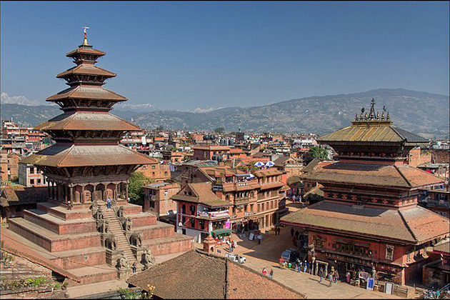 Bhaktapur Durbar Square - cultural world heritage nepal
