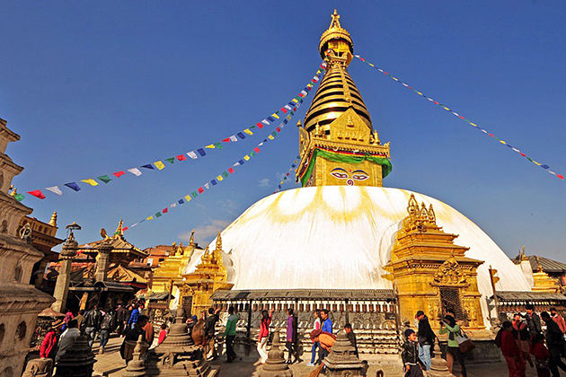 Boudhanath Stupa - Nepal worl heritage sites