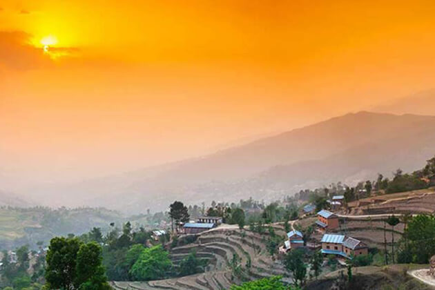 Nepal Sunrise - Sunset Tour