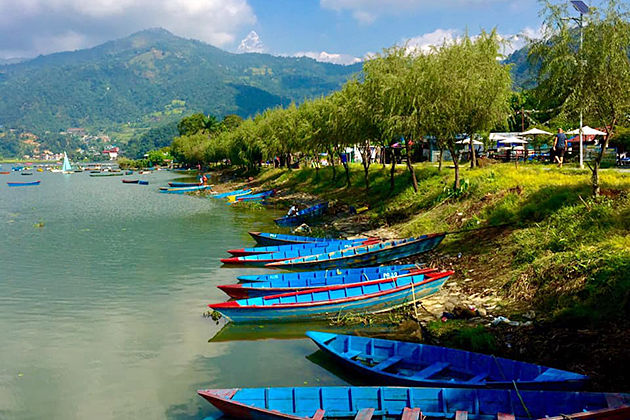 Pokhara Phewa lake - golden triangle and nepal tours