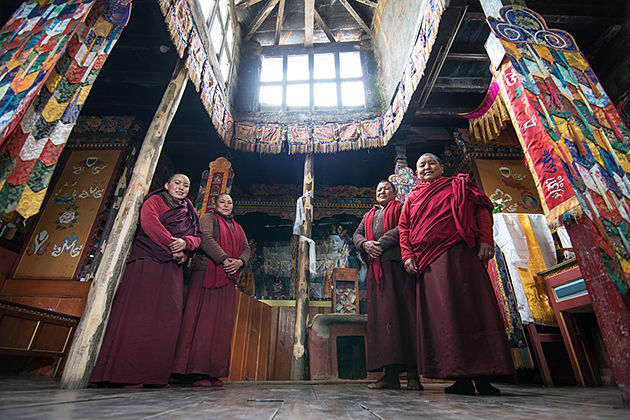 Red Gompa - nepal lower mustang trek itineraries