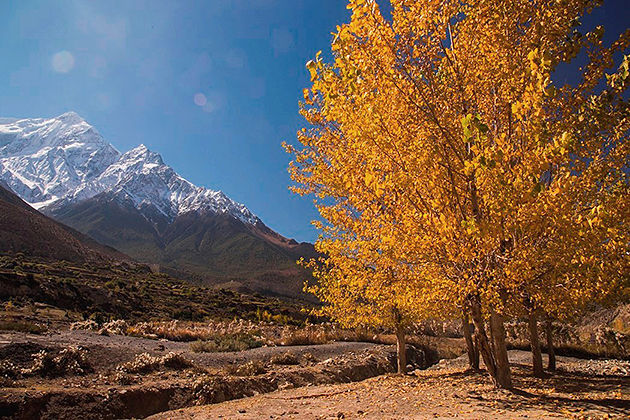 autumn - best time visit nepal tour itinerary