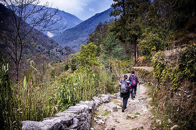 ghandruk trek - Nepal tour itineraries