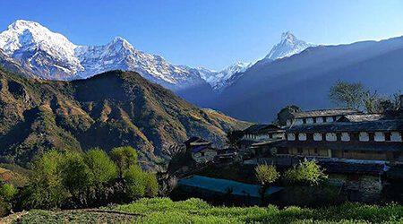 ghandruk nepal trekking tours
