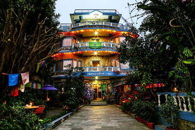 hotel silver oaks inn - hotel in nepal pokhara