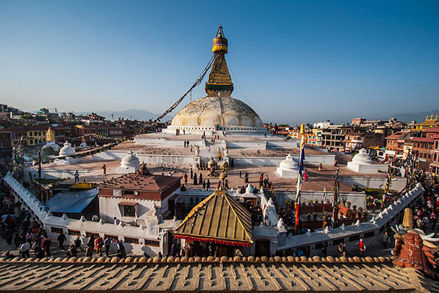 kathmandu - lower mustang trek