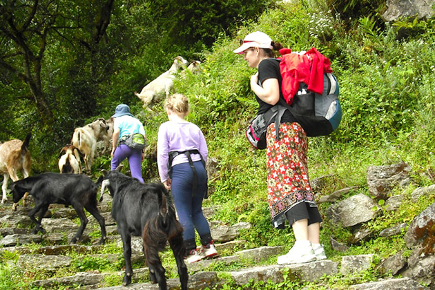 landruk trek - nepal tour ititnerary packages