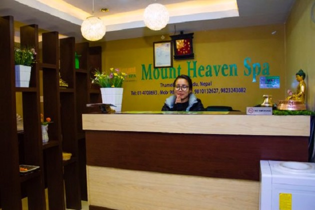 mountain heaven spa - nepal massage nightlife and redlife area