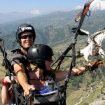 paragliding - golden triangle with nepal tour package