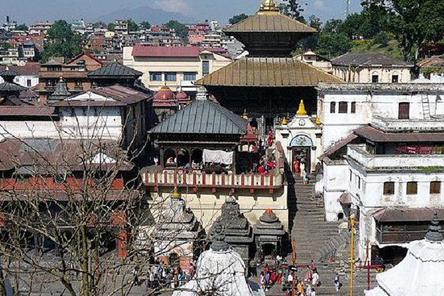 pashupatinath temple - cultural heritages in nepal