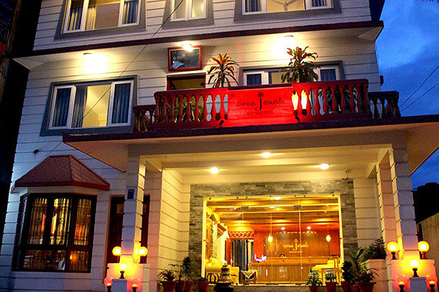 three jewels boutique - best hotel in nepal