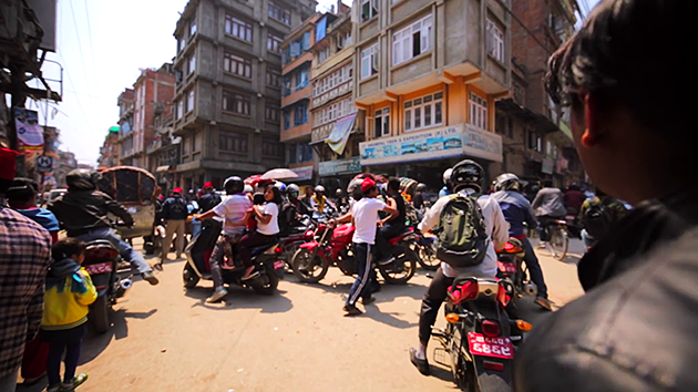 traffic in nepal tours