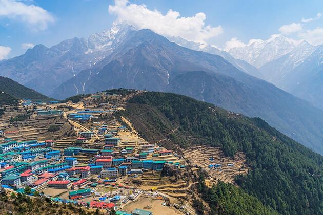 Namche Bazaar - nepal trekking vacation