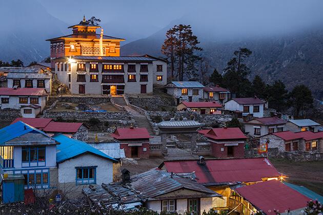 Tengboche monastery - nepal everest trip