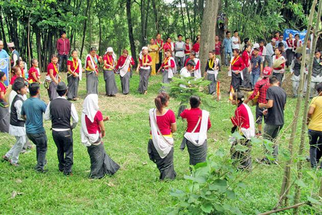 chandi narch - nepal folk dance