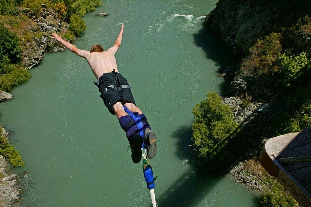 Bungee Jumping - nepal adventure