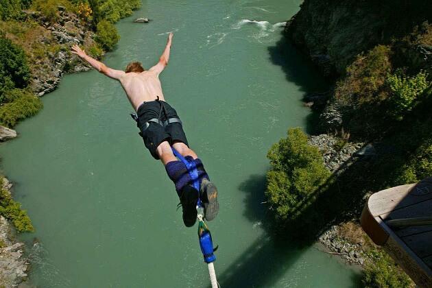 Bungee Jumping - nepal adventure holidays